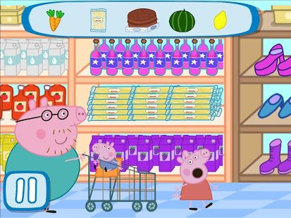 Peppa in the Supermarket APK Download For Free