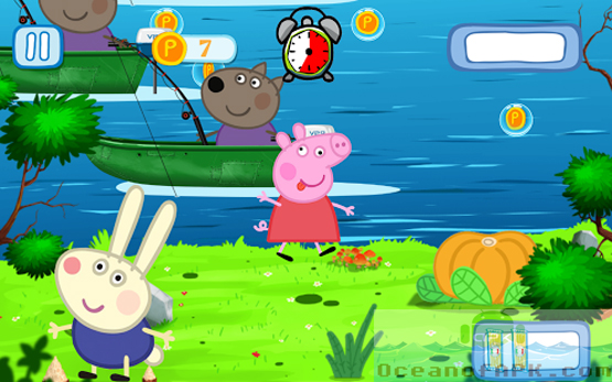 Peppa on the River PRO APK Features