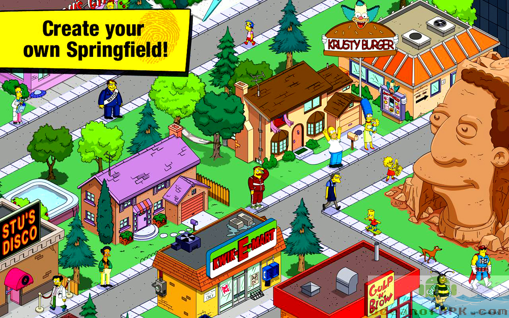 the simpsons tapped out mod apk free