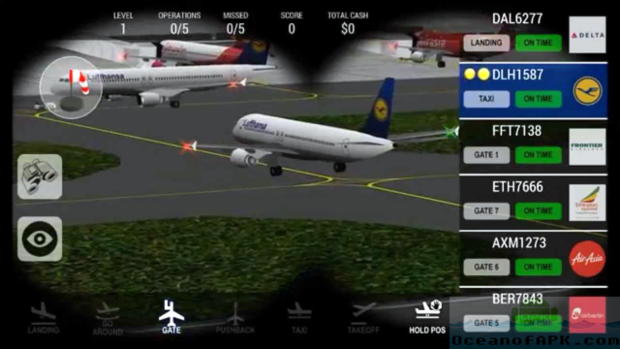 Unmatched Air Traffic Control Mod APK Features