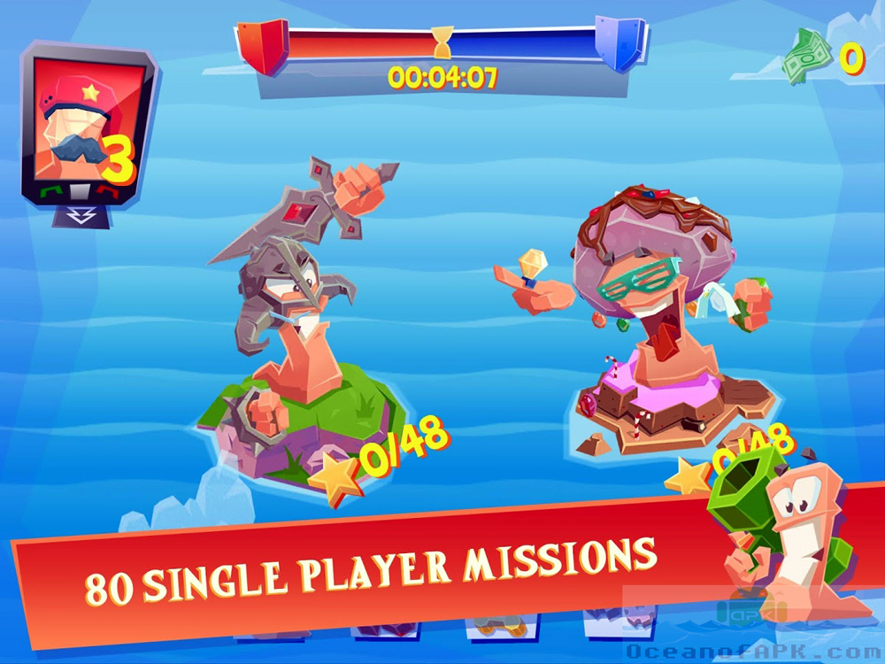 Worms 4 Mod APK Setup Free Download