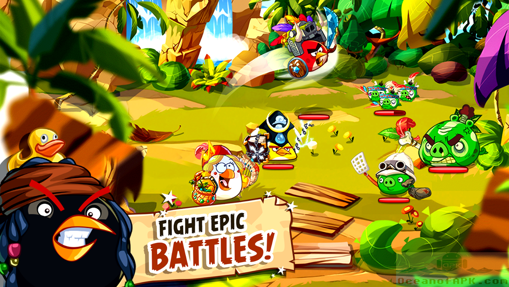 Angry Birds Epic RPG Mod Unlimited APK Download For Free