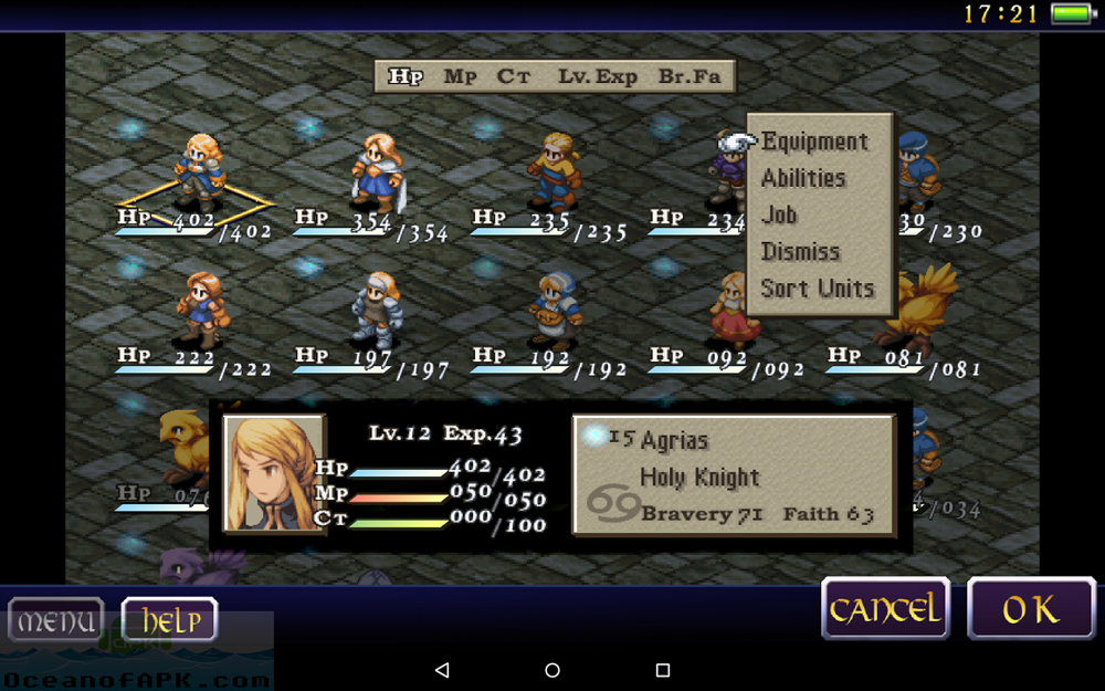 Final Fantasy Tactics War of the Lions APK Download For Free