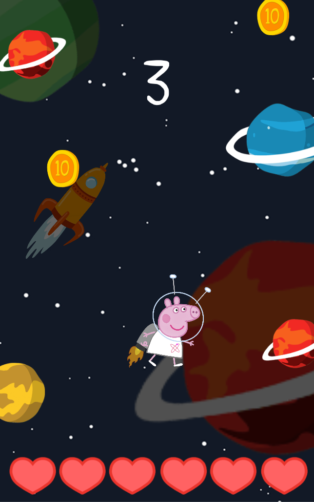 Peppa Space Game Download Free