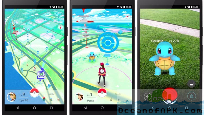 Pokemon GO APK Features