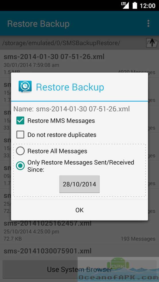 SMS Backup and Restore Pro APK Free Download
