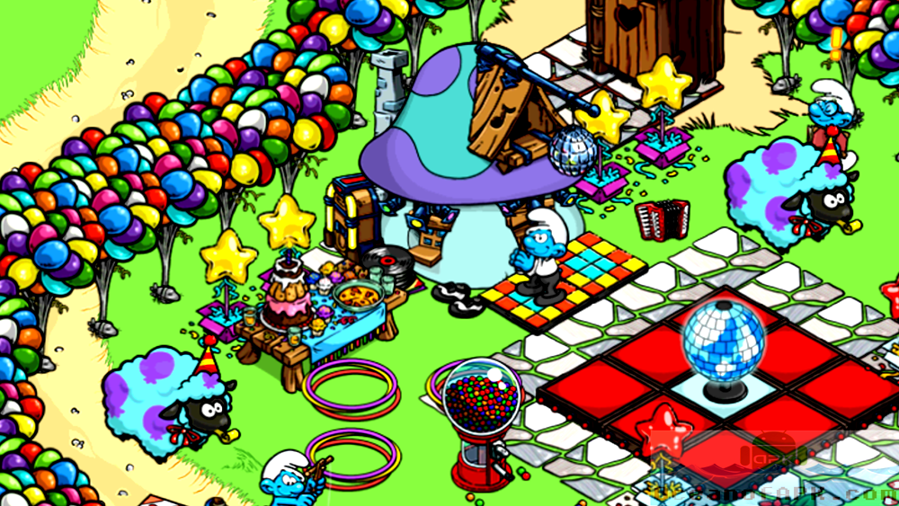 Smurfs Village Mod APK Features