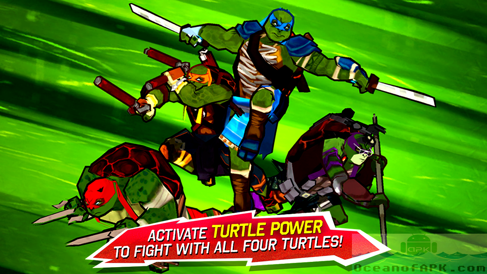TMNT Brothers Unite Mod APK Features