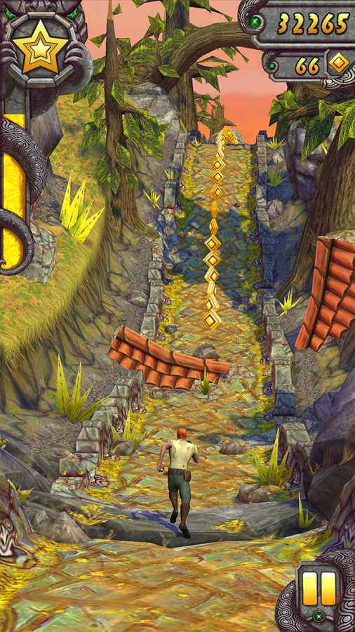 Temple Run 2 Unlimited Gold and Gems APK Features