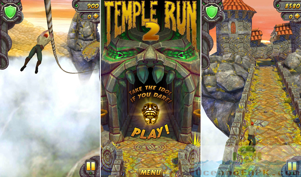 Temple Run 2 Unlimited Gold and Gems APK Setup Free Download