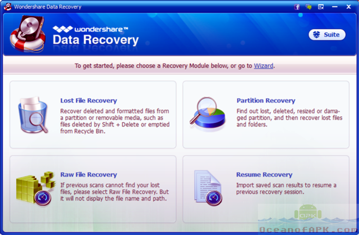 Wondershare Android Data Recovery APK Features