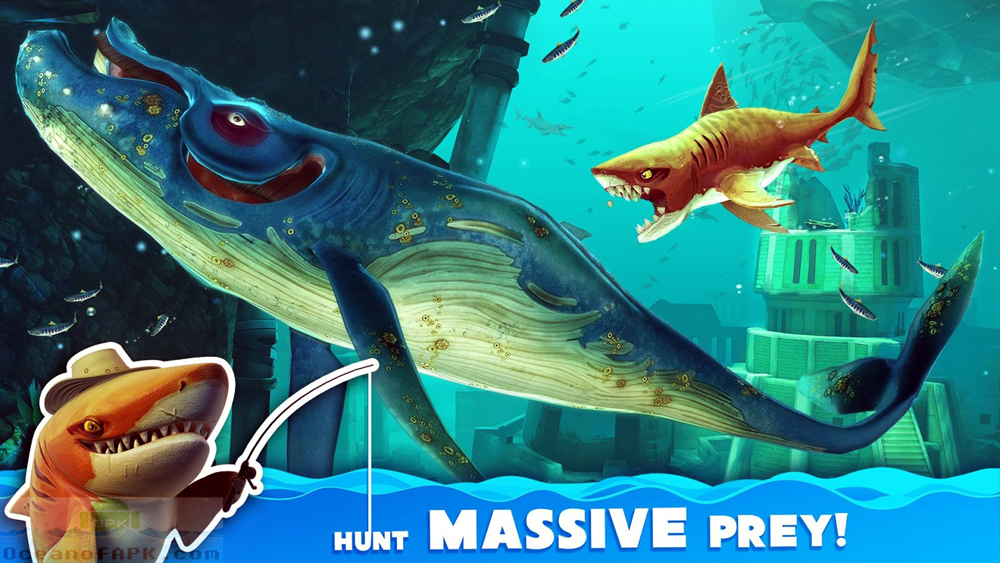Hungry Shark World Mod APK Download For Free