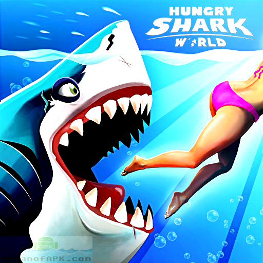 Hungry Shark World Mod APK Free Download