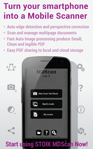 Mobile Doc Scanner MDScan Pro APK Free Download