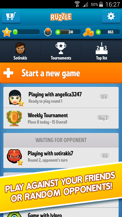 Ruzzle APK Features