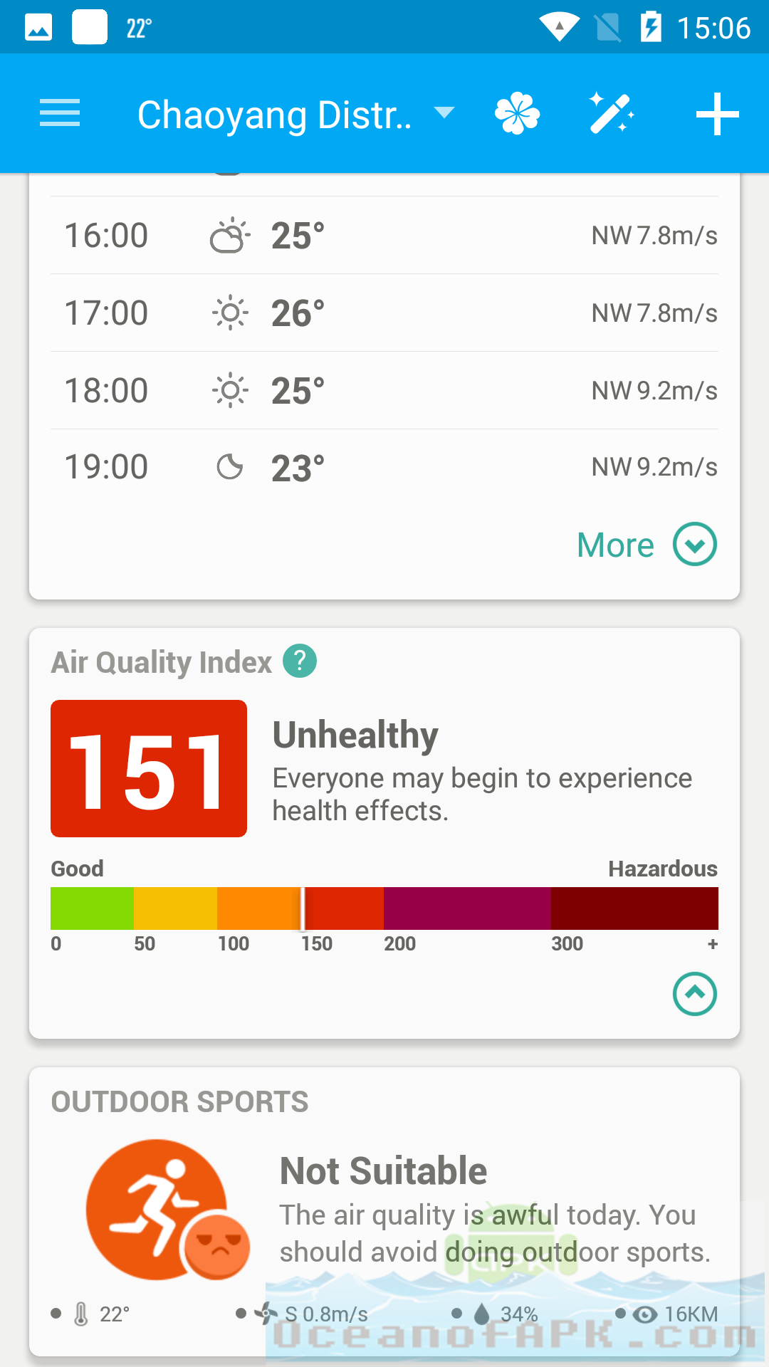 Amber Weather Local Forecast Full APK Features
