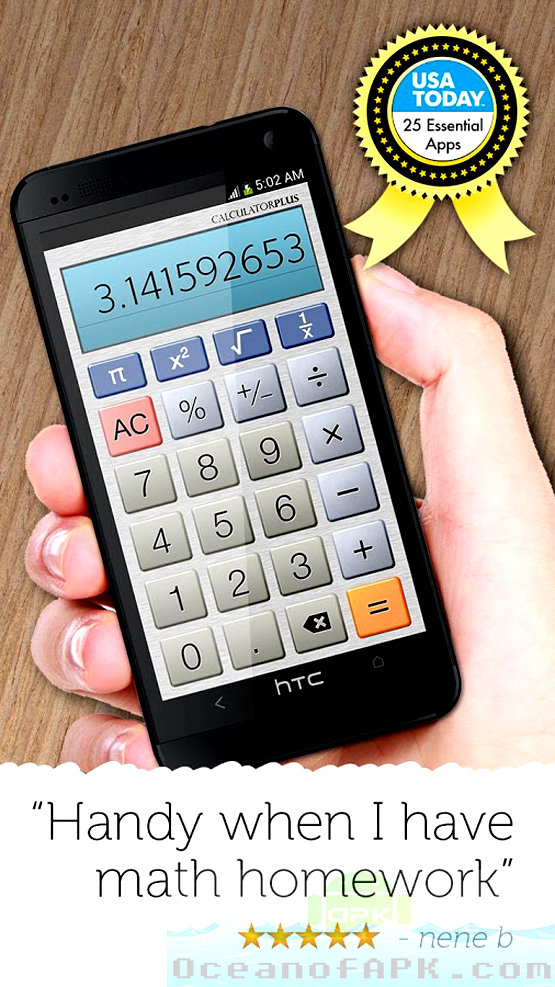 Calculator Plus APK Features