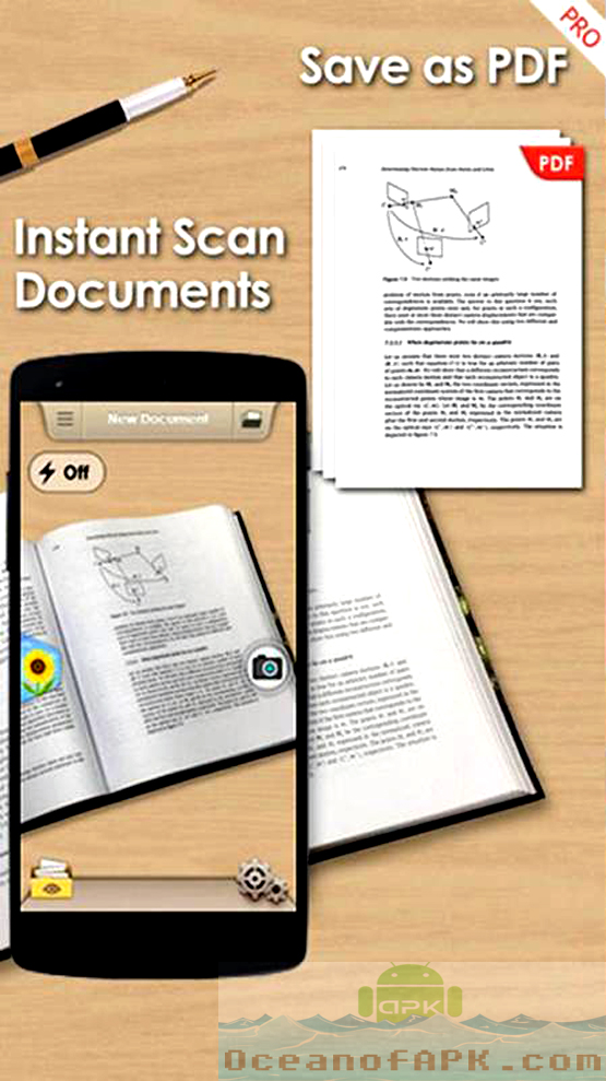 Camera To PDF Scanner Pro APK Download For Free