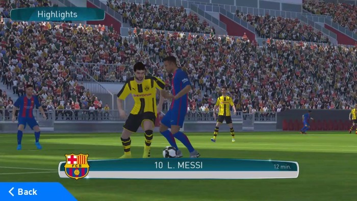Pro Evolution Soccer 2017 APK Free Download