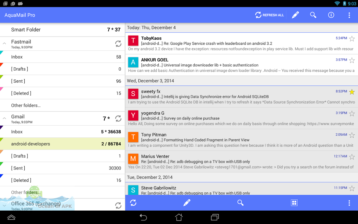 Aqua Mail Pro APK Download For Free