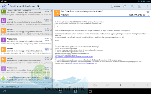 Aqua Mail Pro APK Setup Free Download