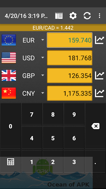Currency Converter Plus APK Features