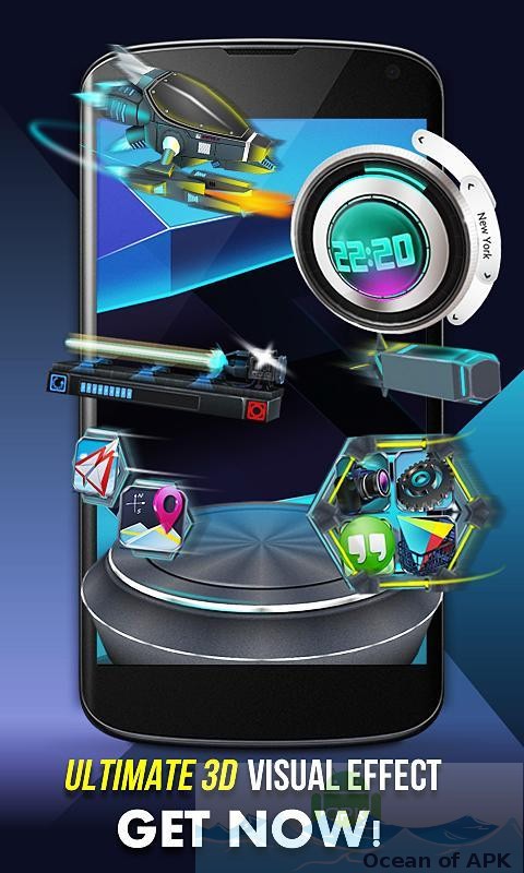 Next Launcher 3D Shell APK Download For Free