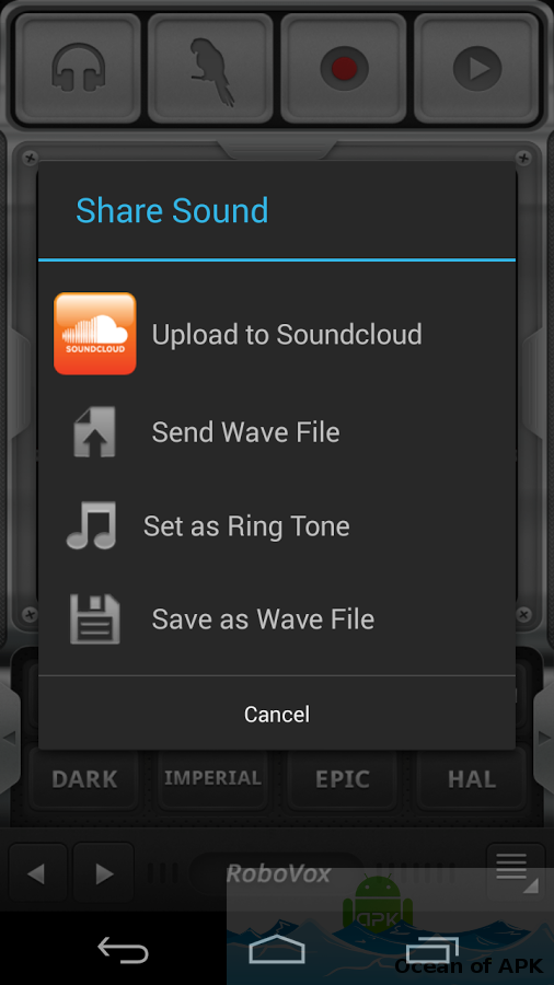 RoboVox – Voice Changer Pro APK Features