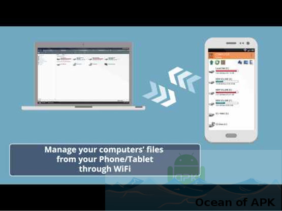 WiFi PC File Explorer Pro APK Free Download - OceanofAPK