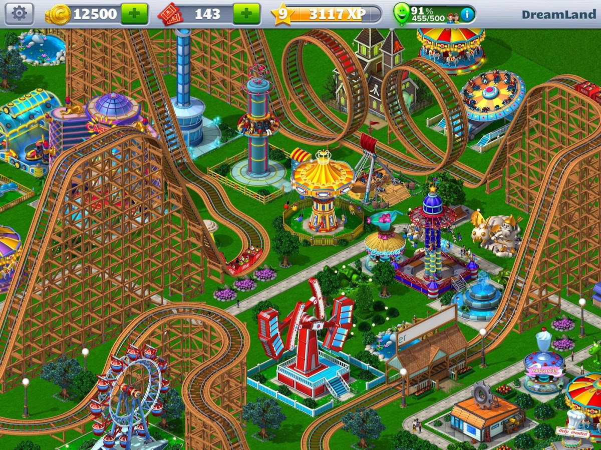 RollerCoaster Tycoon APK Download For Free
