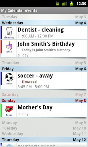 Blik Calendar Widget PRO APK Download