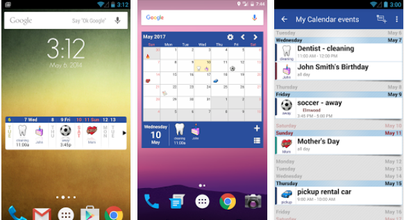 Blik Calendar Widget PRO APK Free Download
