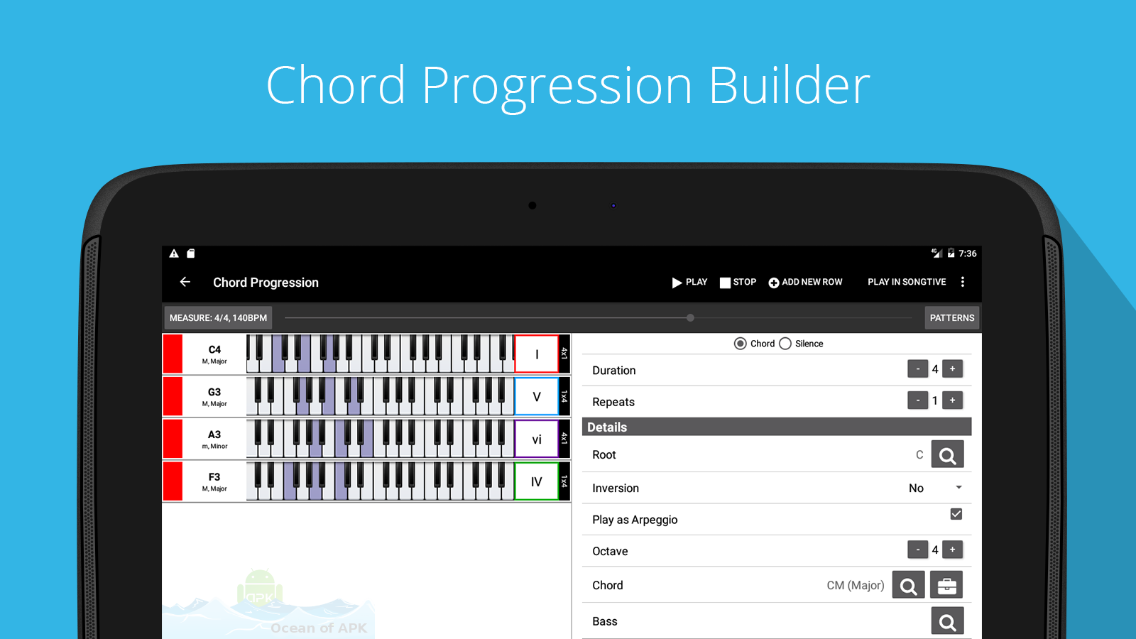 Piano Companion PRO chords Features