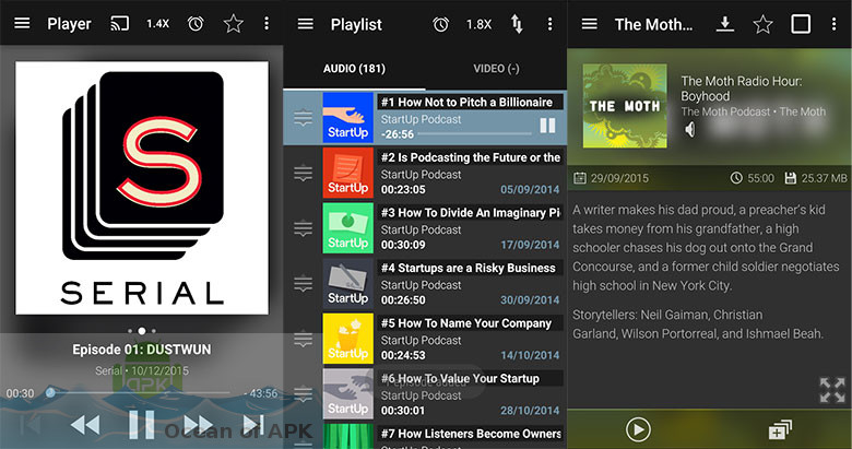 Podcast and Radio Addict v3.36.1 build 1084 Setup Free Download