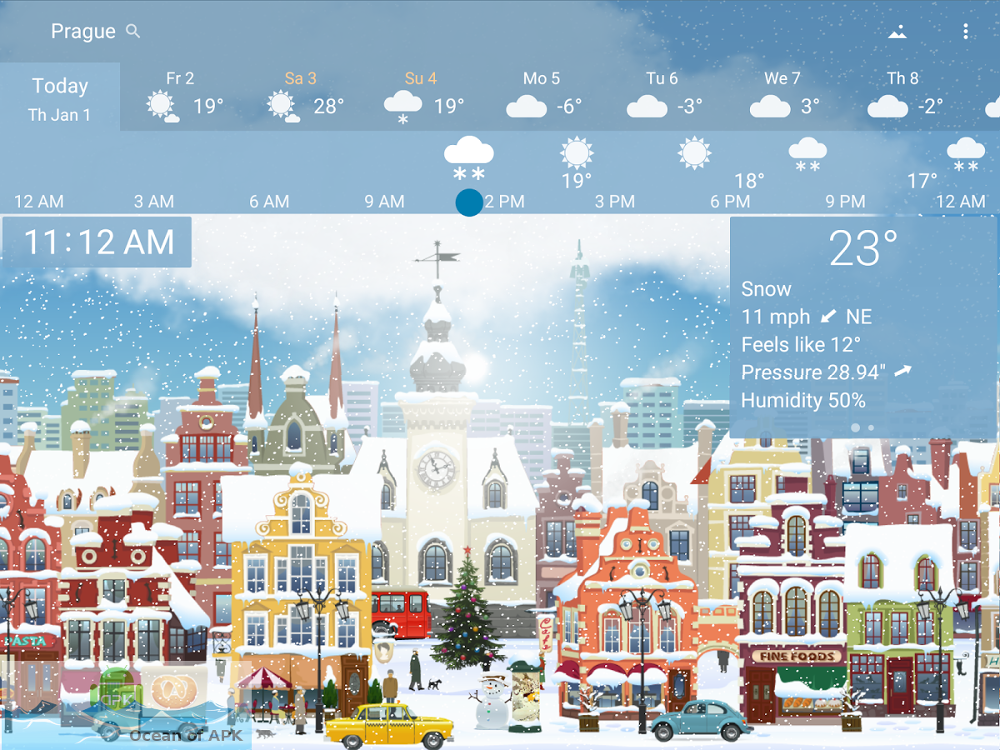 YoWindow Weather v1.32.4 Features