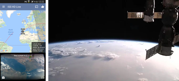 ISS Live - HD Earth viewing APK Download