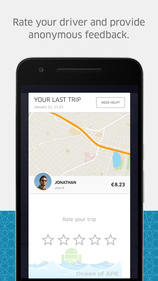 Uber v3.138.6 APK Features