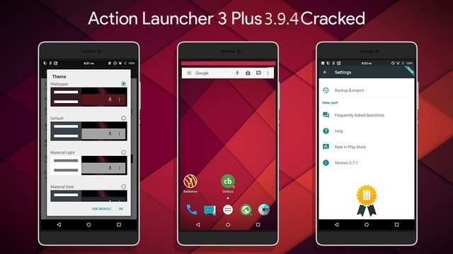 Action Launcher 3 v3.9.4 APK Download Free