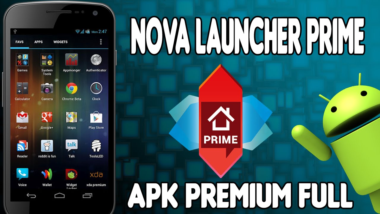 Nova Launcher Prime V5 1 1 Apk Free Download Oceanofapk
