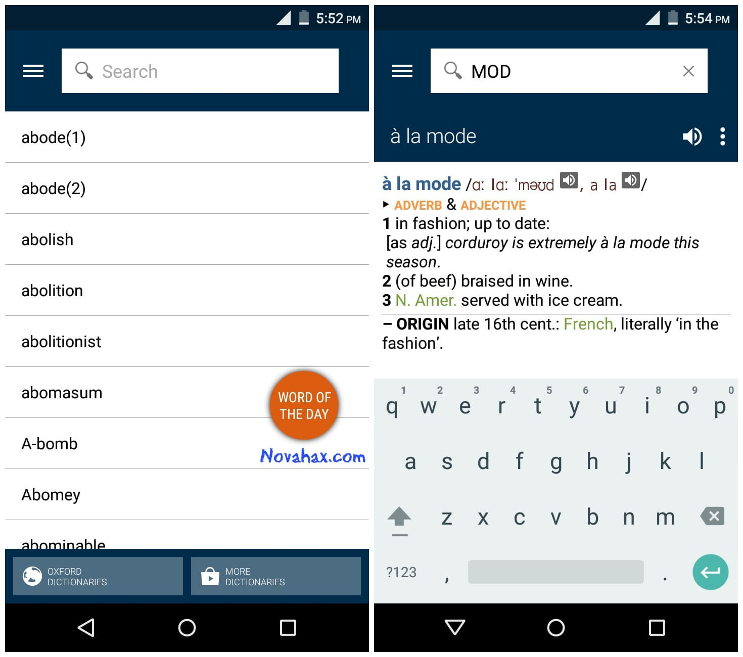 Oxford Dictionary of English v7.0.177 Premium APK Free