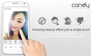 Candy Camera - selfie, beauty camera, photo editor APK