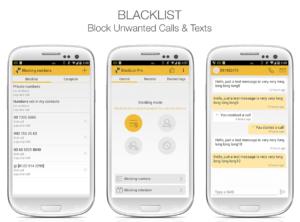 Blacklist Call and SMS blocker Pro v9.0.1 Free APK Download