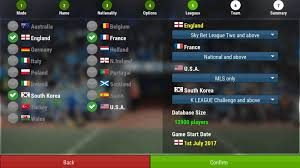 Free Football Manager Mobile 2018 v9.0.1 APK Download