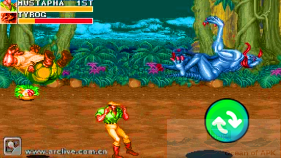 Cadillacs and Dinosaurs APK Features