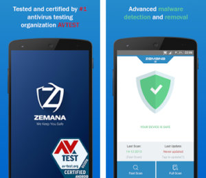 Download Zemana Mobile Antivirus Premium v1.7.0 APK Free