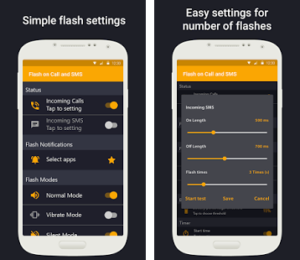 Download Flash Alerts on Call and SMS Premium v2.9. Apk Free