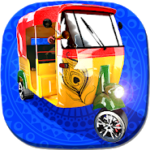 Tuk Tuk drive Traffic Simulator 3D v0.8 APK Free Download