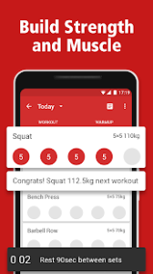 StrongLifts 5x5 Workout v2.5.10a APK Download Free