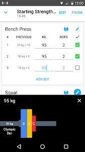 Strong Exercise Gym Log, 5x5 v1.17 APK Download Free
