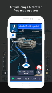GPS Navigation and Offline Maps Sygic v17.4.21 APK Download Free